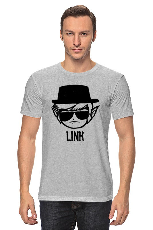 цена на Футболка классическая Printio Link heisenberg