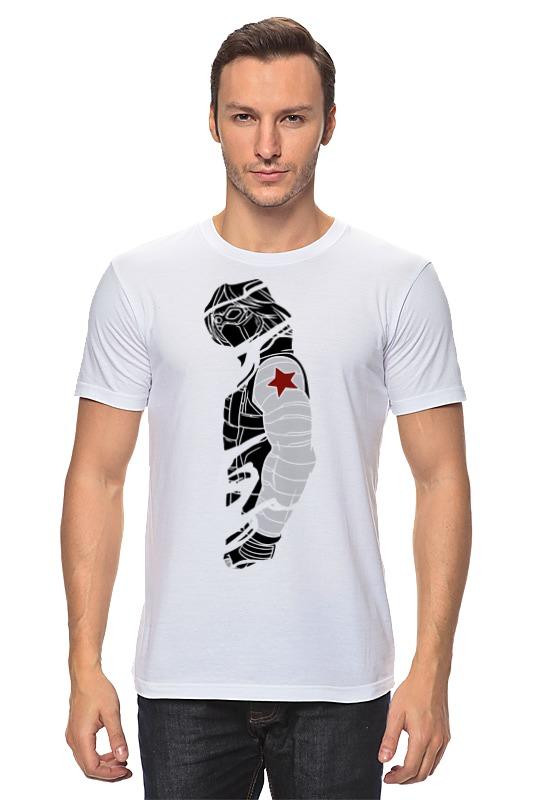 Футболка классическая Printio Зимний солдат (капитан америка) футболка классическая printio неизвестный солдат