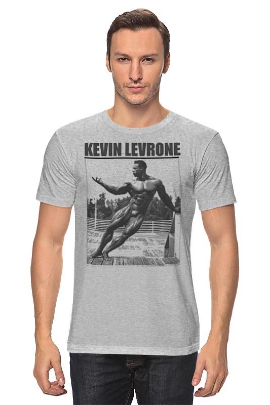 Футболка классическая Printio Kevin levrone / кевин леврон кевин литтл kevin lyttle kevin lyttle ecd
