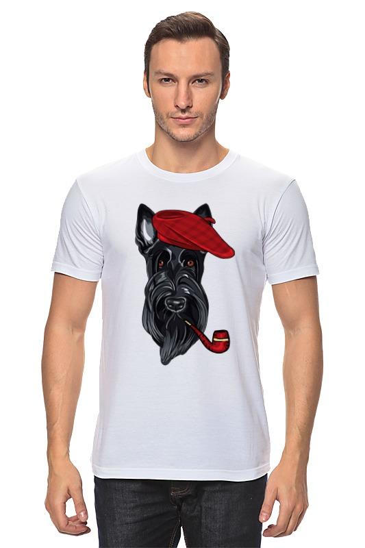 Футболка классическая Printio Шотландский терьер (скотч-терьер) футболка wearcraft premium slim fit printio шотландский терьер скотч терьер