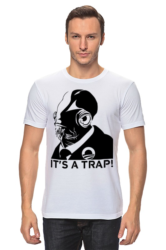 Футболка классическая Printio It's a trap [sa]mersen smartspot fuse amp trap fuses ajt4 4a 600v 27 51mm