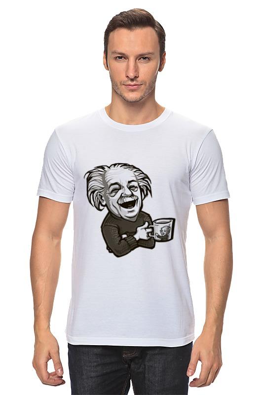 книги эксмо правила жизни от альберта эйнштейна Футболка классическая Printio Эйнштейн