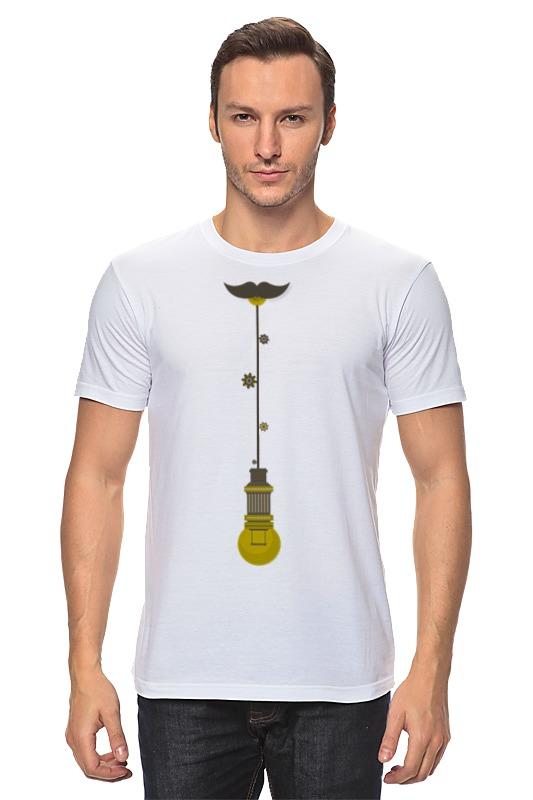 Футболка классическая Printio Лампа - галстук майка классическая printio лампа галстук
