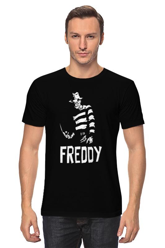 Футболка классическая Printio Фредди крюгер детская футболка классическая унисекс printio девушка фредди крюгер