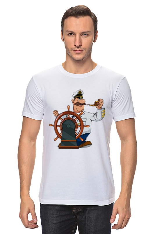 Футболка классическая Printio Капитан врунгель футболка классическая printio капитан