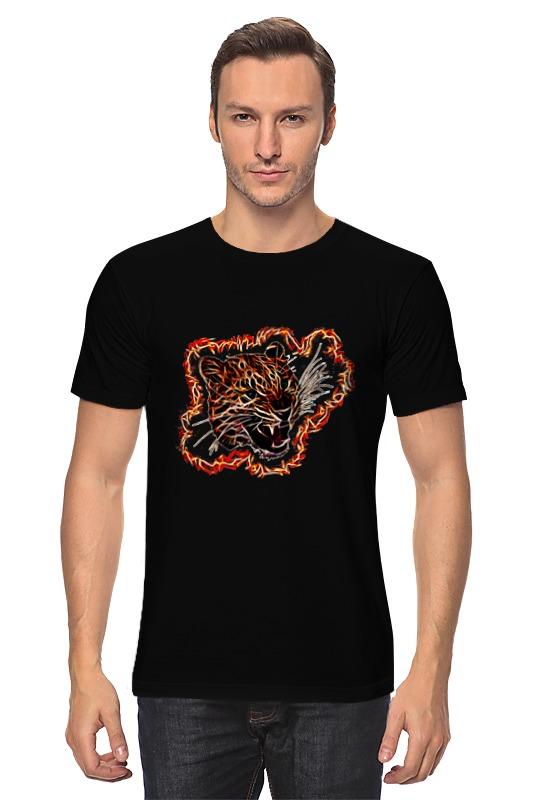 Футболка классическая Printio Леопард изнер к леопард из батиньоля