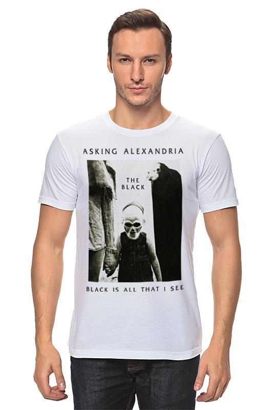 Футболка классическая Printio Asking alexandria футболка рингер printio asking alexandria