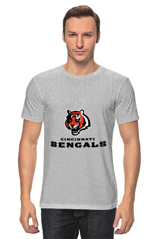 Футболка классическая Printio Cincinnati bengals pete rose signed autographed cincinnati reds stat jersey jsa coa