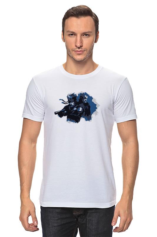 Футболка классическая Printio Metal gear solid футболка стрэйч printio рация metal gear