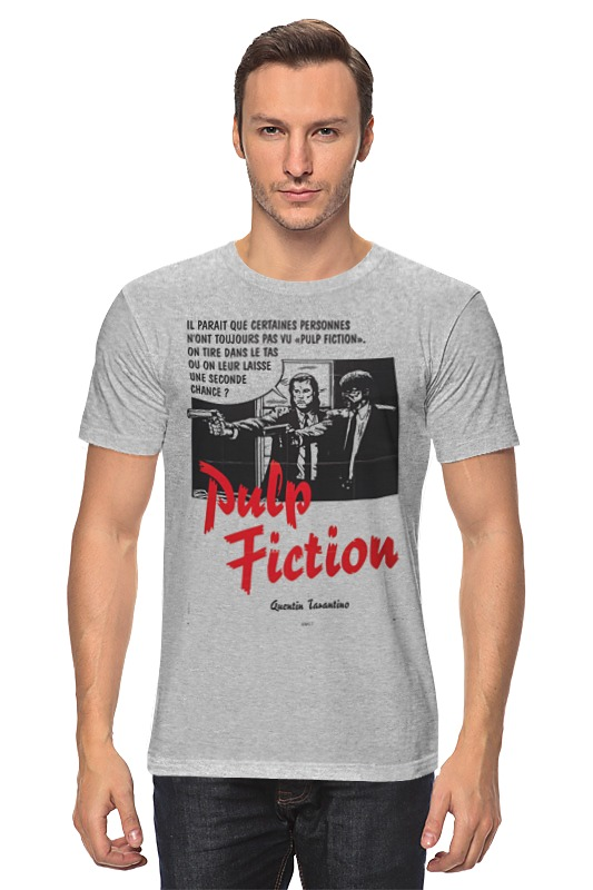 Футболка классическая Printio Pulp fiction худи print bar pulp fiction