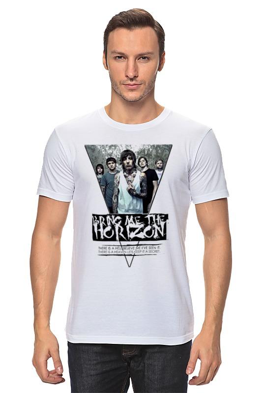 Футболка классическая Printio Bring me the horizon треугольник футболка для беременных printio bring me the horizon девочка