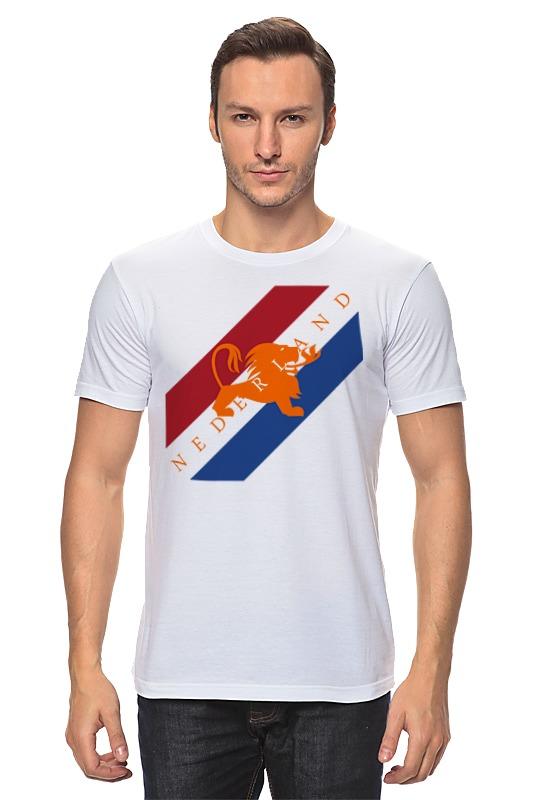 Футболка классическая Printio Нидерланды футболка стрэйч printio нидерланды