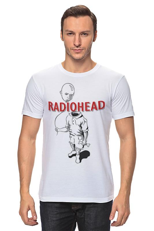 Футболка классическая Printio Radiohead cd из японии radiohead