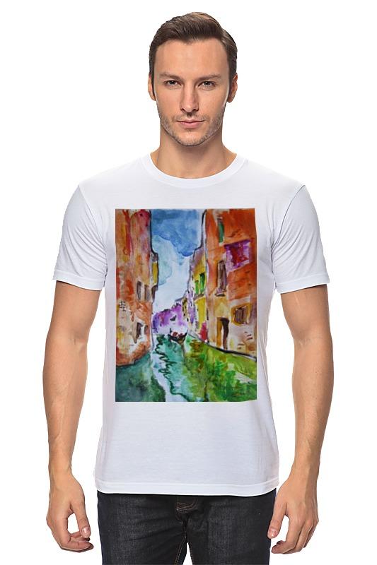 Футболка классическая Printio Венеция венеция