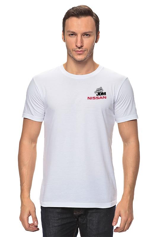 Футболка классическая Printio Nissan jdm футболка классическая printio авто уаз