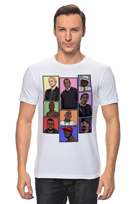 Футболка классическая Printio Легенды хип-хопа (рэпа) футболка классическая printio gta 5 dog