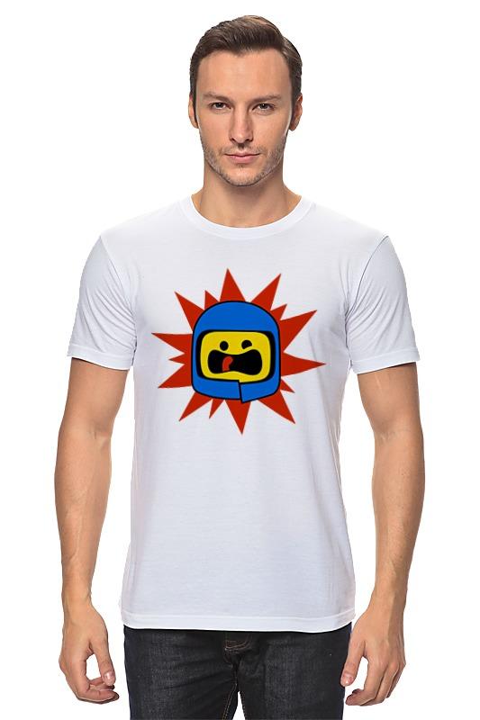 Футболка классическая Printio Лего (lego) t art блузка