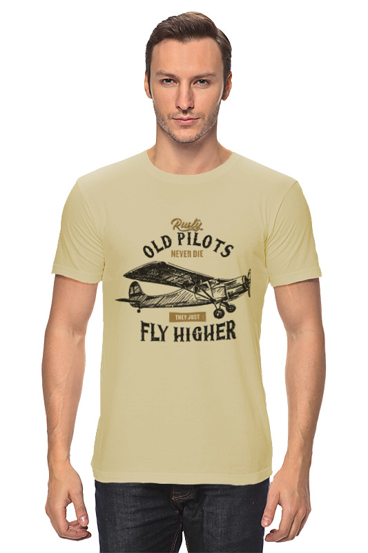 Printio Пилоты не умирают футболка классическая printio викинги не умирают