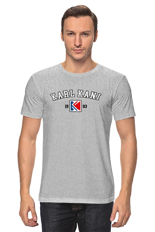 Футболка классическая Printio Karl kani aquael mini kani 80 aq10088