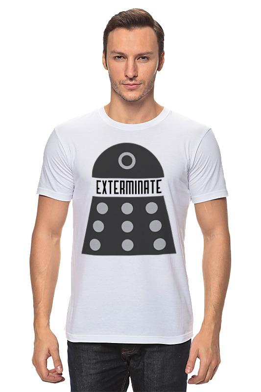 Футболка классическая Printio Далеки (доктор кто) футболка рингер printio доктор кто doctor who