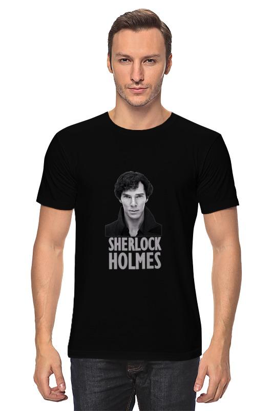 Футболка классическая Printio Sherlock holmes dayle a c the adventures of sherlock holmes рассказы на английском языке