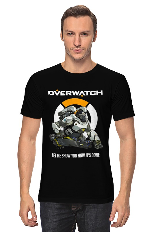 Футболка классическая Printio Overwatch. уинстон футболка классическая printio overwatch уинстон