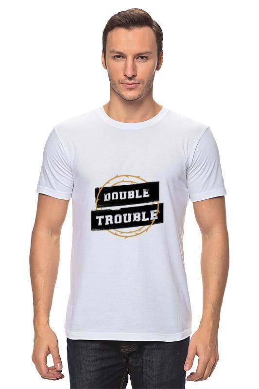 цена на Футболка классическая Printio Double trouble