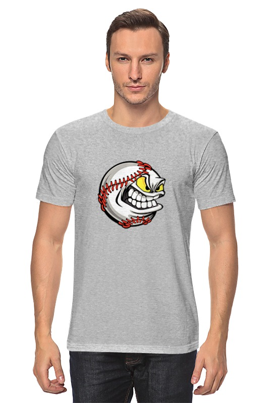 Футболка классическая Printio Бейсбол