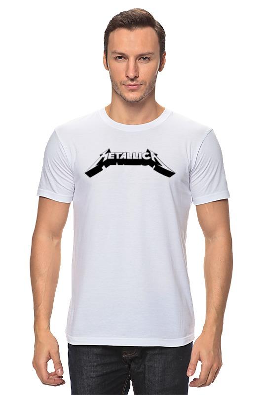 Футболка классическая Printio Логотип группы «metallica» электрогитара ltd kill em all metallica