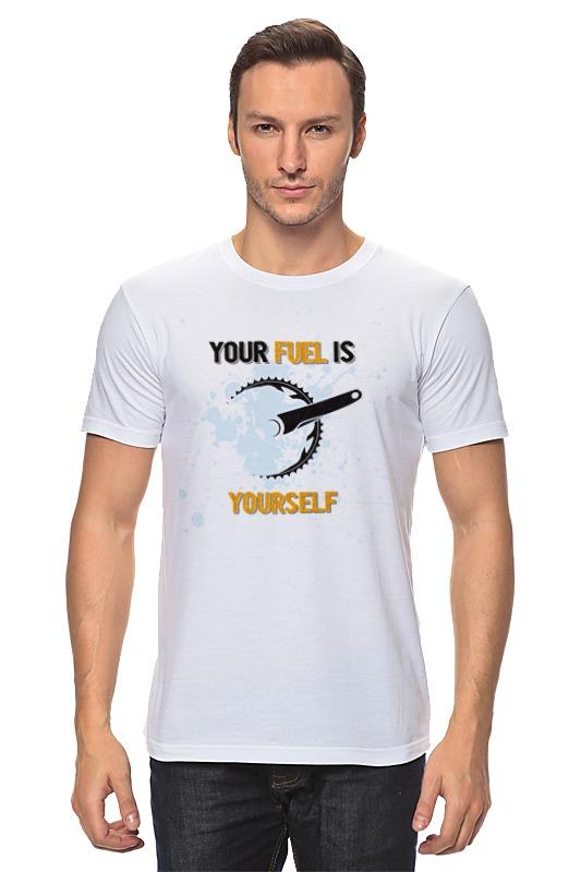 Футболка классическая Printio Your fuel bfm2012 fuel system parts 04282358 0428 2358 fuel lift pump 210b 20917999 fuel feed pump