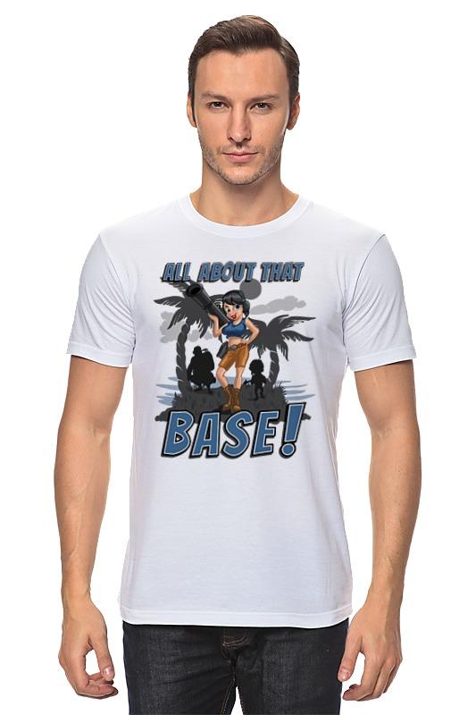 Футболка классическая Printio Base! inov 8 футболка base elite lsz w xl barberry