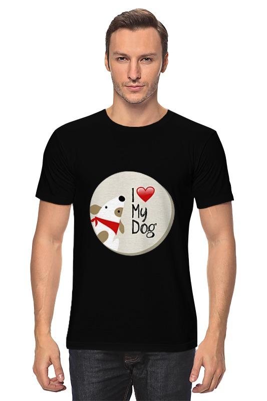 Футболка классическая Printio My dog сумка printio gta 5 dog