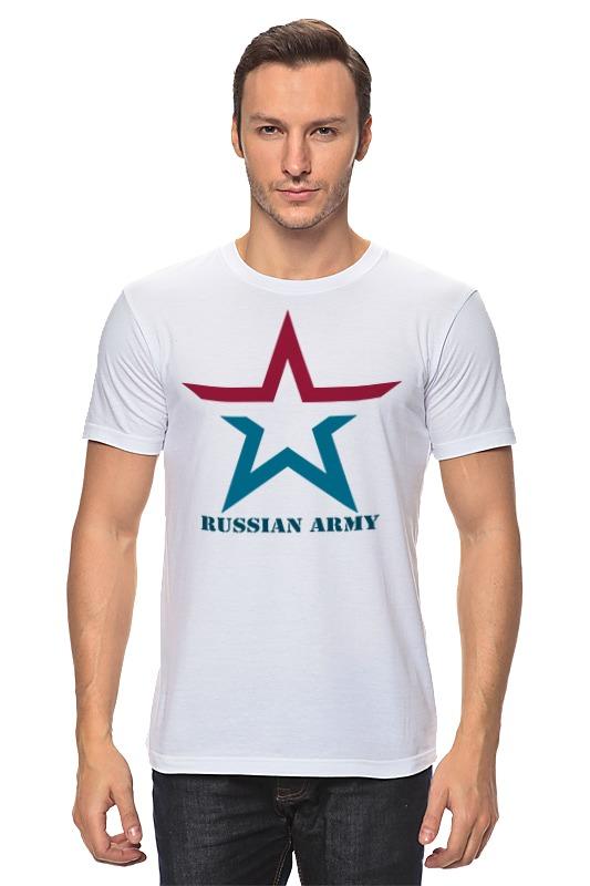 Футболка классическая Printio russian army