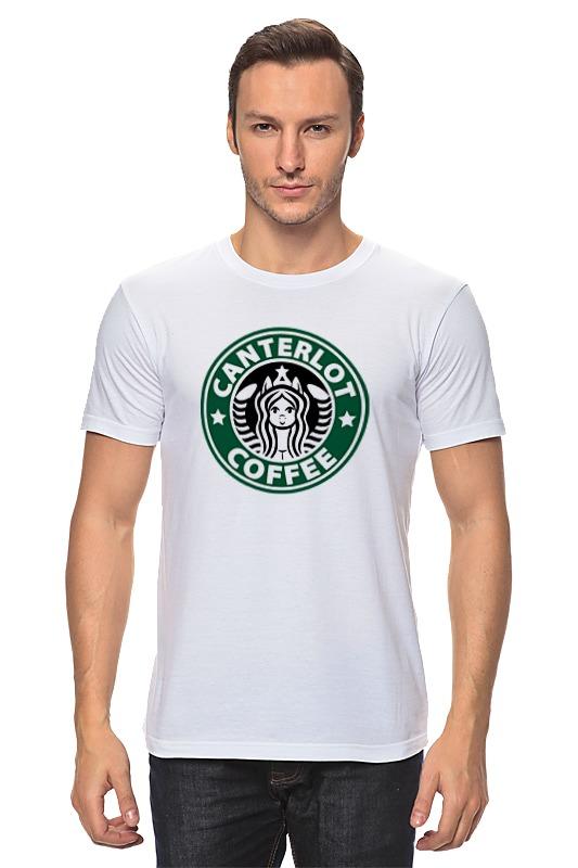 Футболка классическая Printio Canterlot coffee (starbucks x luna) сумка printio starbucks coffee