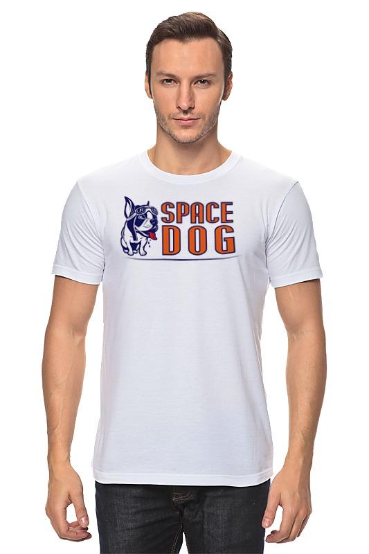 Футболка классическая Printio Space dog