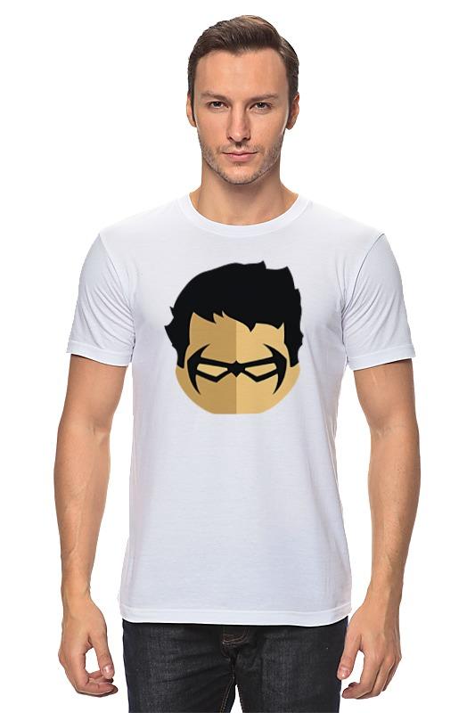 Футболка классическая Printio Дик грейсон футболка рингер printio дик трэйси