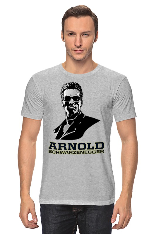 Футболка классическая Printio Arnold schwarzenegger футболка рингер printio arnold schwarzenegger