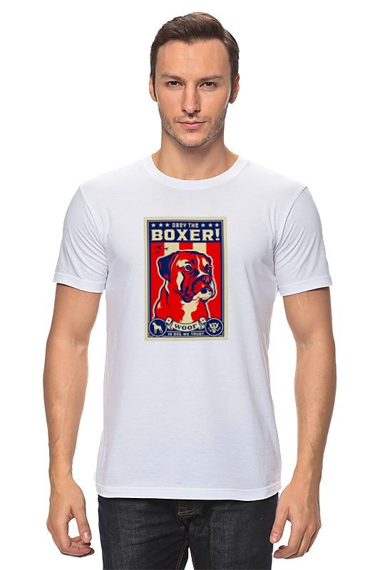 Футболка классическая Printio Собака: boxer boxer boxer bloodletting