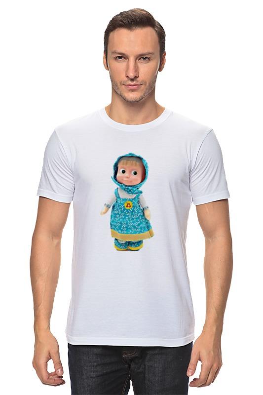 Футболка классическая Printio Кукла маша из мульта. смешная озорная. . ник банток шляпа фокусника озорная школа творчества