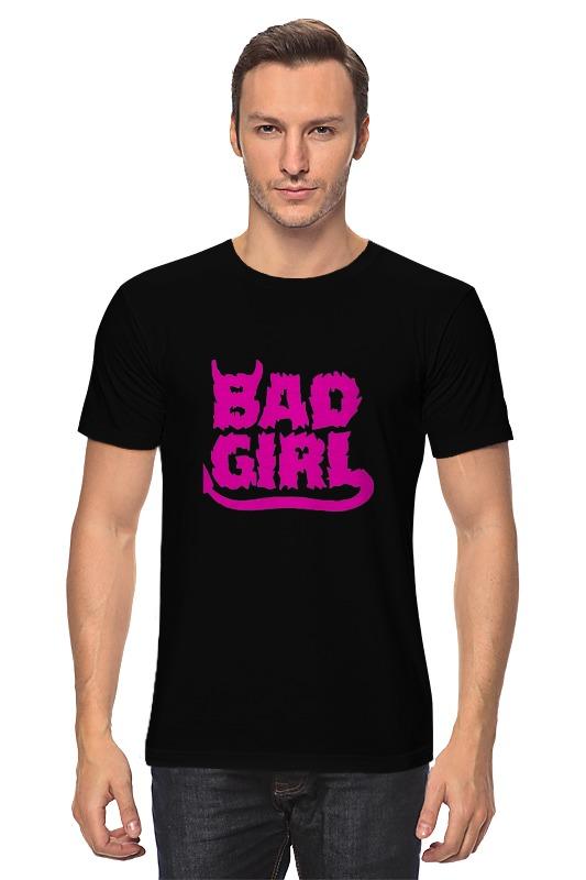 Футболка классическая Printio Bad girl (плохая девченка) bad influence