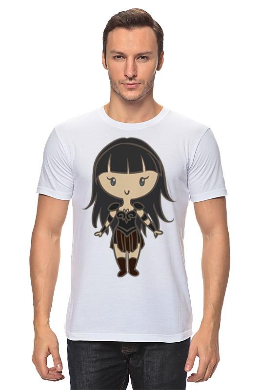 Футболка классическая Printio Зена — королева воинов футболка wearcraft premium slim fit printio зена королева воинов