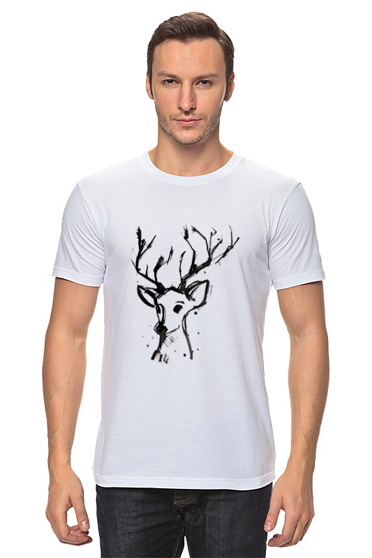 Футболка классическая Printio Dear deer майка борцовка print bar dear deer