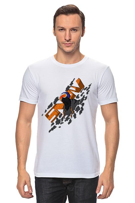 Футболка классическая Printio Snowboarder свитшот print bar snowboarder