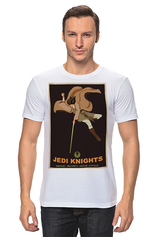 Футболка классическая Printio Jedi knights футболка wearcraft premium printio jedi knights