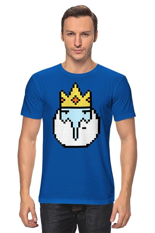 Футболка классическая Printio Ice king футболка рингер printio ice king x batman