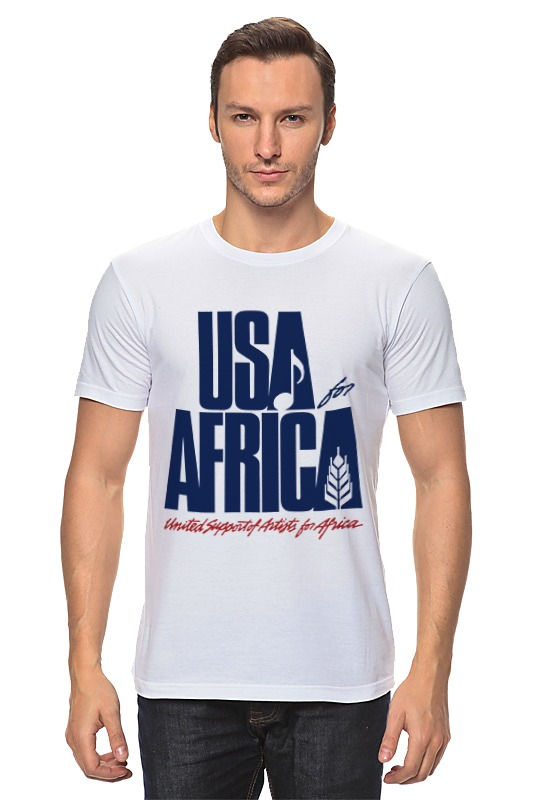 Футболка классическая Printio Usa for africa лонгслив printio usa for africa