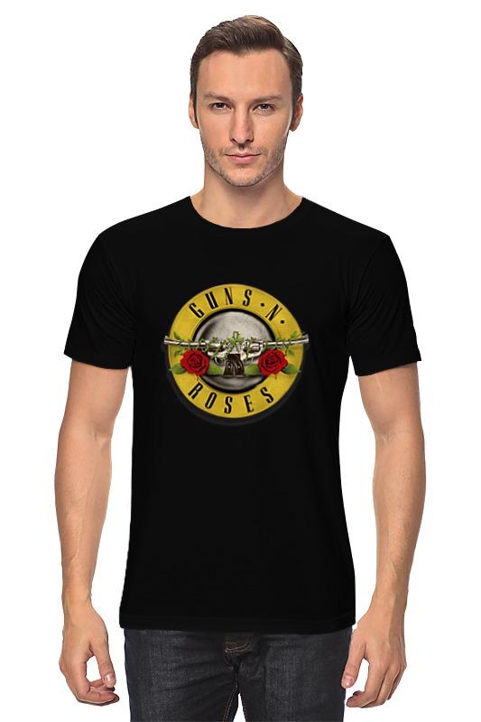 Футболка классическая Printio Guns'n'roses t-shirt женская футболка hic t hic 9153