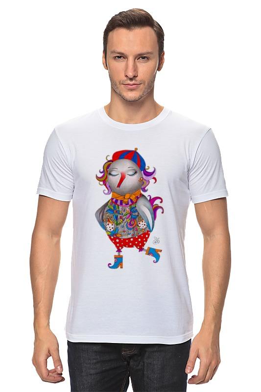 Футболка классическая Printio Весенняя птица футболка christian audigier экзотическая птица