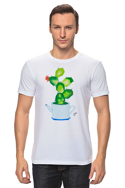 Футболка классическая Printio Домашнее растение растение нолина штамбовая д 17 в 65
