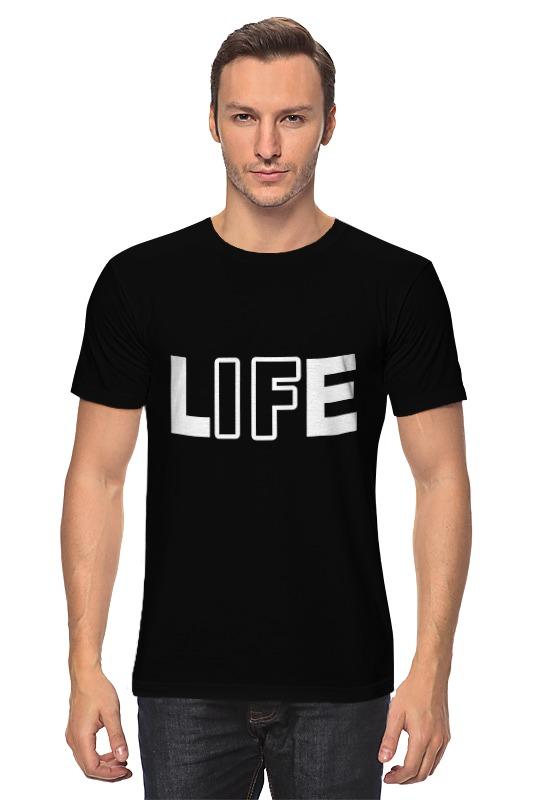 Футболка классическая Printio Life - жизнь жизнь